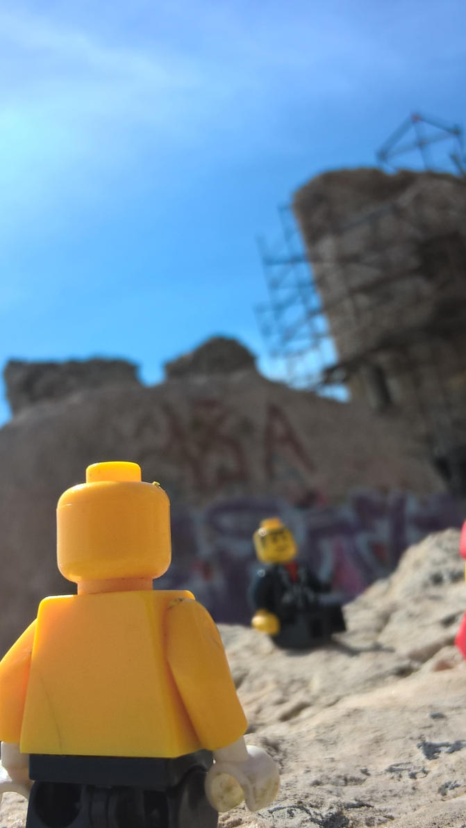 Day Seven. The ruins by MrMrsMouse