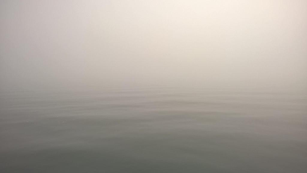 ocean in fog by MrMrsMouse
