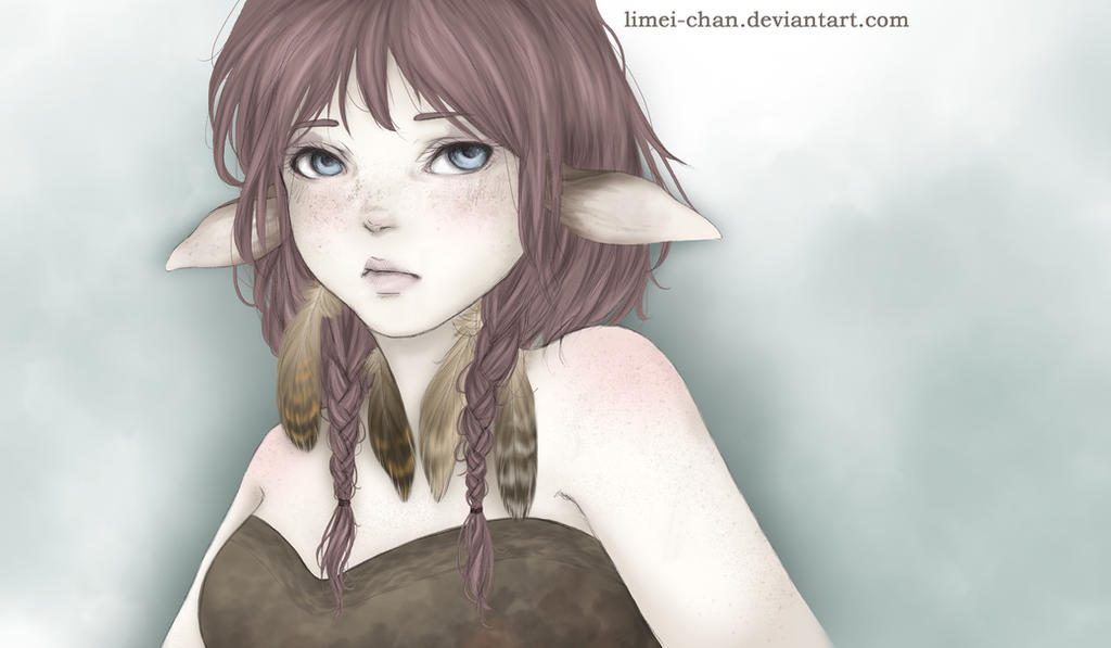 Deer Girl by Limei-chan