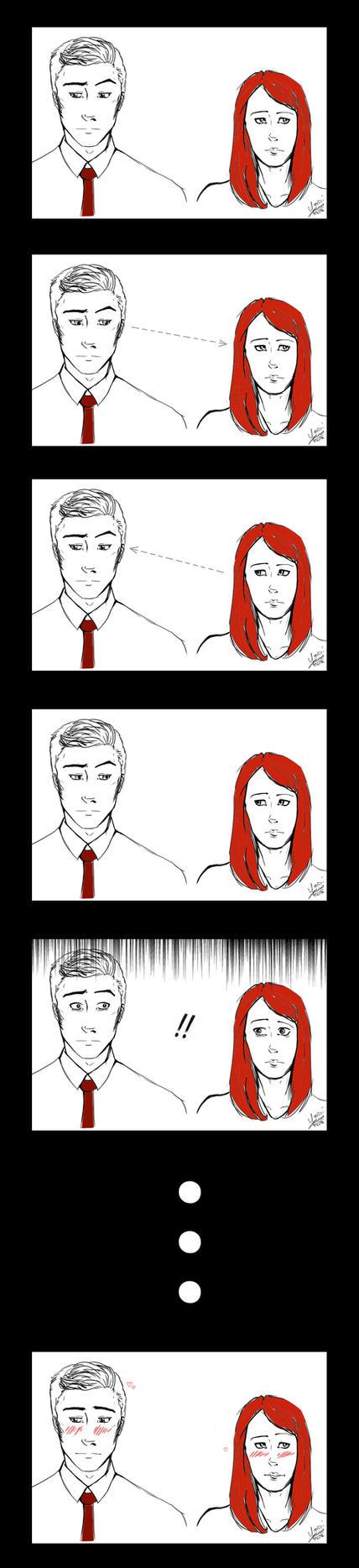 awkward moment by Y0NDI