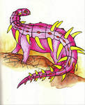 H is for Hylaeosaurus by Whelveaway