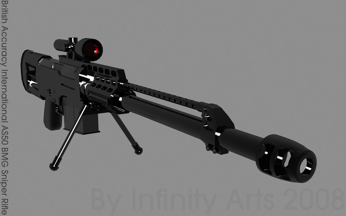 Accuracy International As50 Sniper Rifle