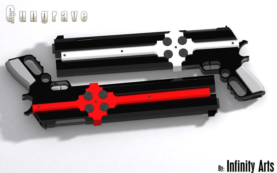 Gungrave Cerberus Render 2 by Infinityl33t on DeviantArt Gungrave Cerberus Guns