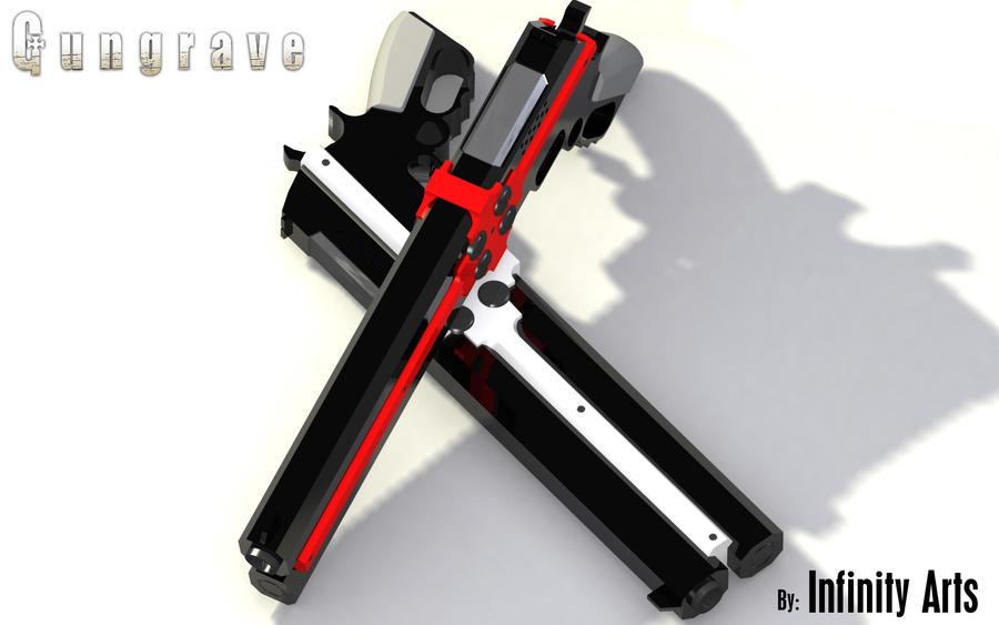 Gungrave Cerberus Render 3 by Infinityl33t on DeviantArt Gungrave Cerberus Guns