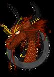 Dragon headshot