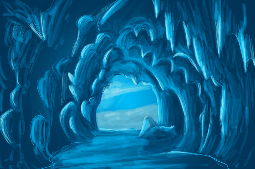 Image Gallery Ice Cave Cartoon