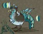 [CLOSED AUCTION] Pacific Pigeon by LastKrystalDragon