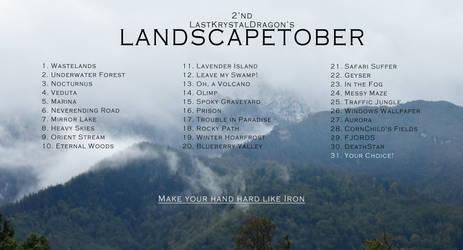 2nd LANDSCAPETOBER CHALLENGE by LastKrystalDragon