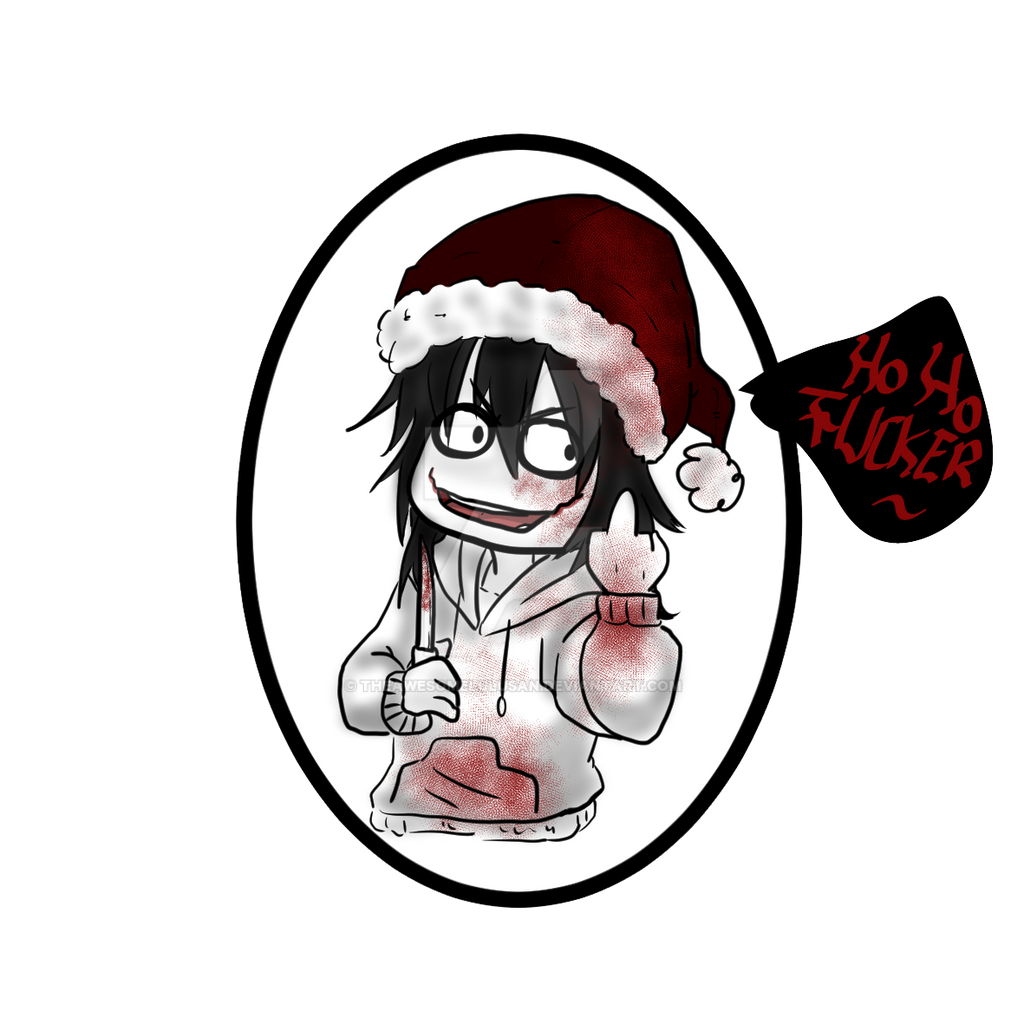 Creepypasta] Christmas Jeff by TheAwesomeLuluSan on DeviantArt