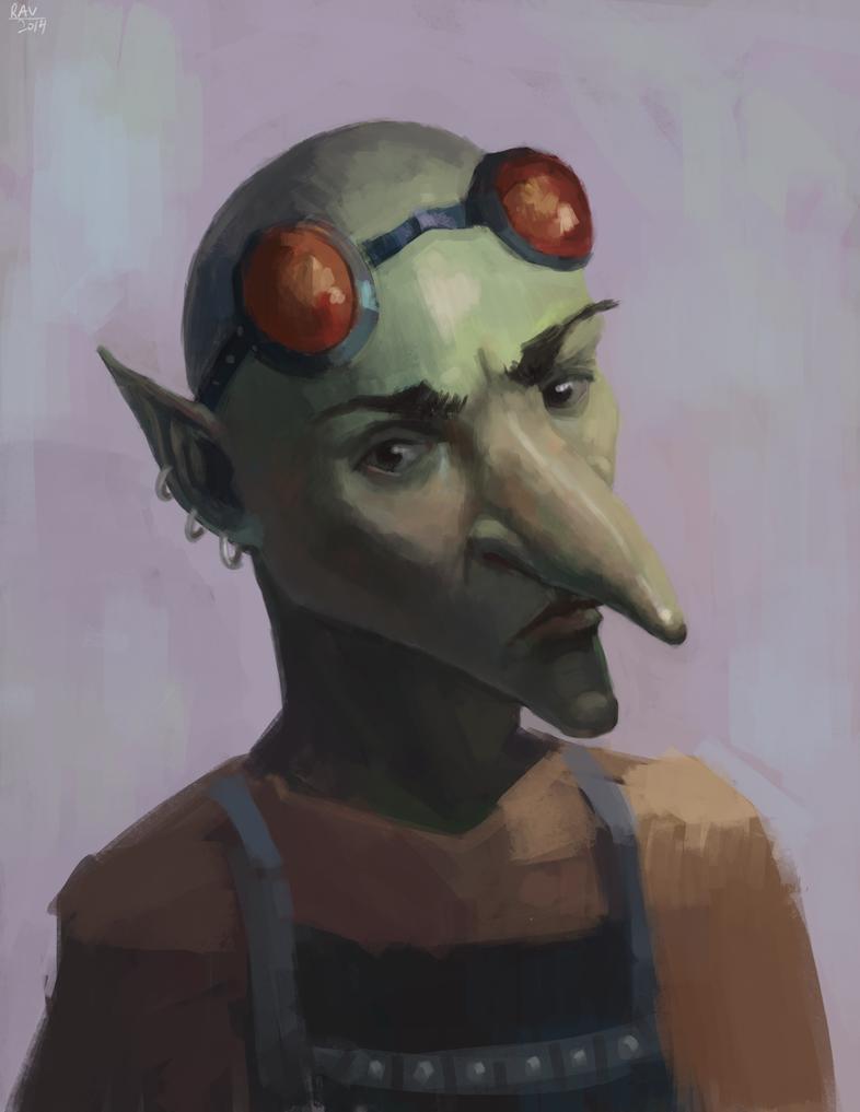 Goblin portrait by gettheEpipen