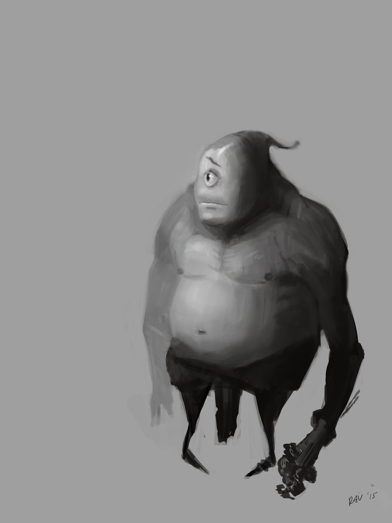 Creature Sketch by gettheEpipen