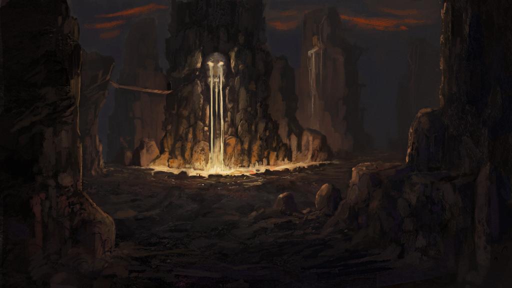 Lava  Mountain by gettheEpipen