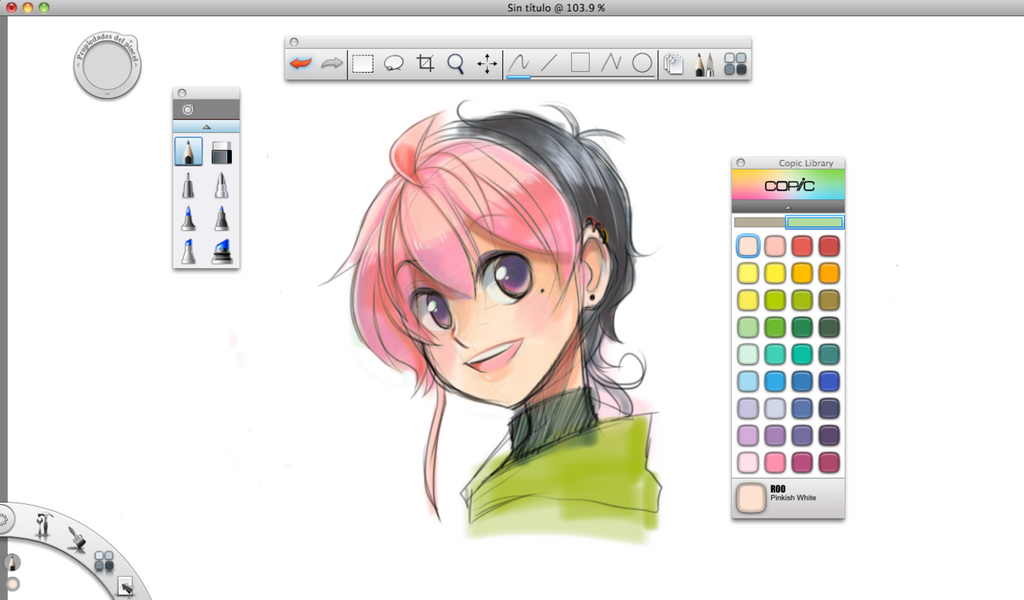 Autodesk sketchbook copic edition by wazzella on deviantart Simple drawing program for windows