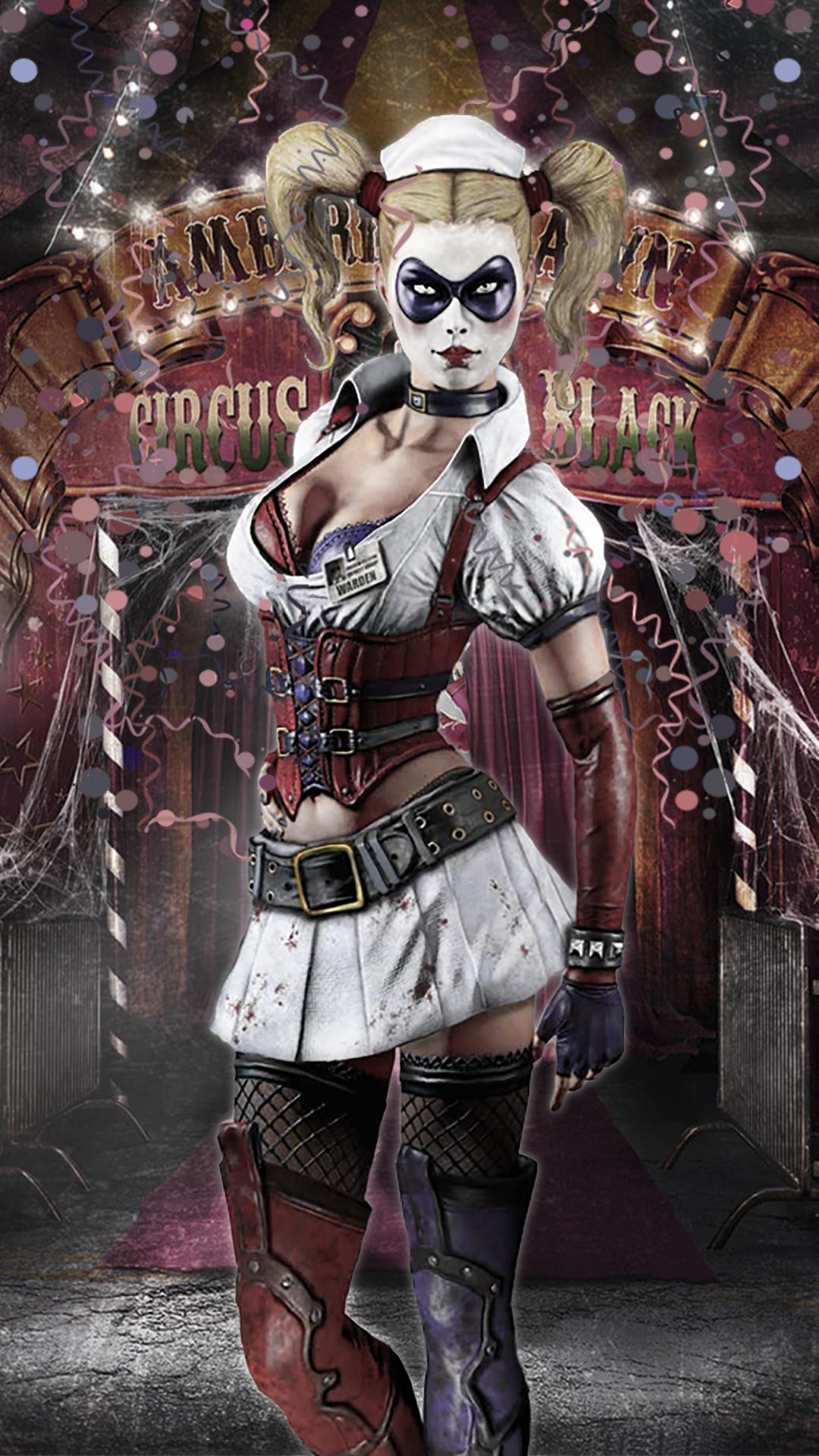 Harley Quinn Arkham Asylum By Jpgraphic On Deviantart