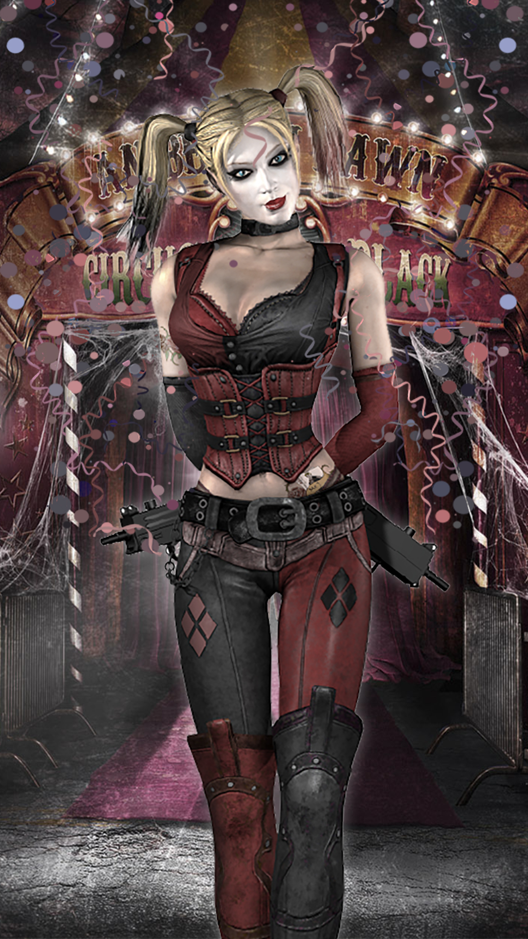 Harley Quinn Arkham City By Jpgraphic On Deviantart