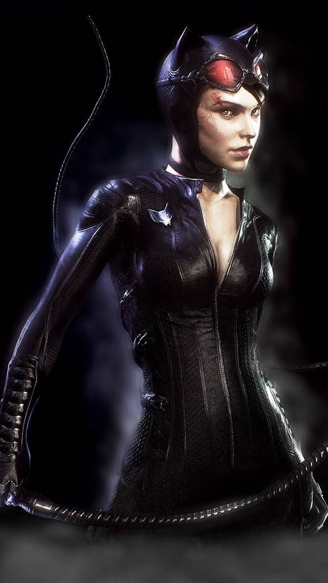 CATWOMAN / ARKHAM KNIGHT by JPGraphic on DeviantArt