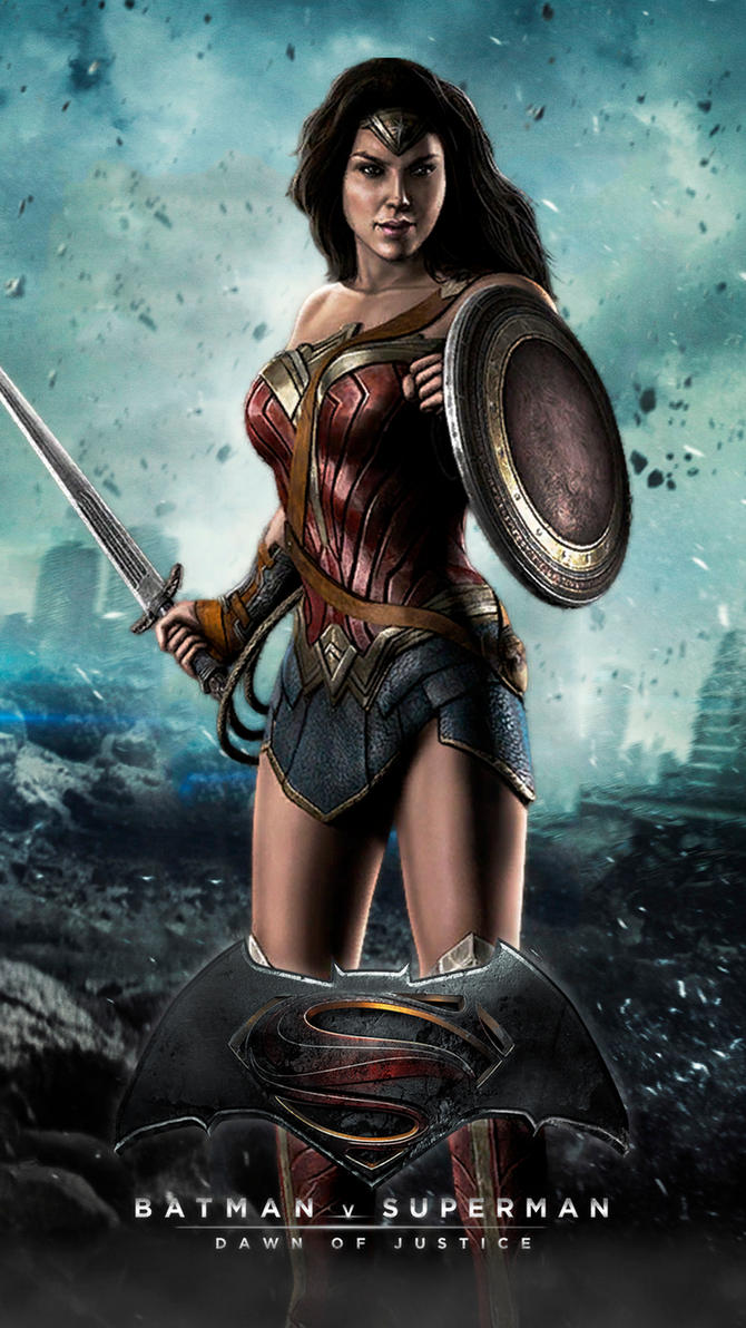 WONDER WOMAN Batman V Superman Dawn Of Justice By JPGraphic