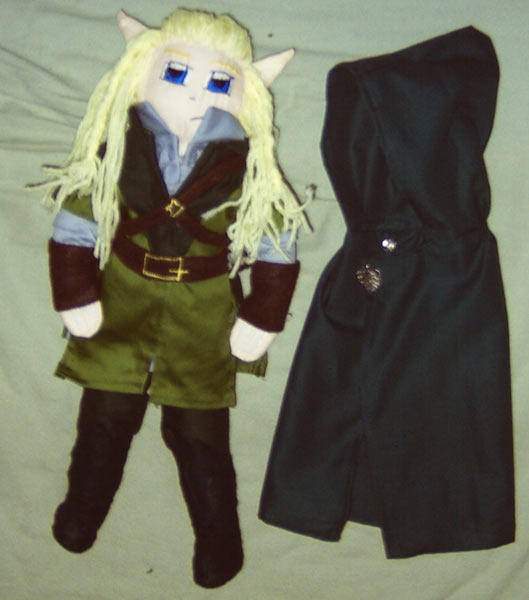 Legolas Plush by wifey