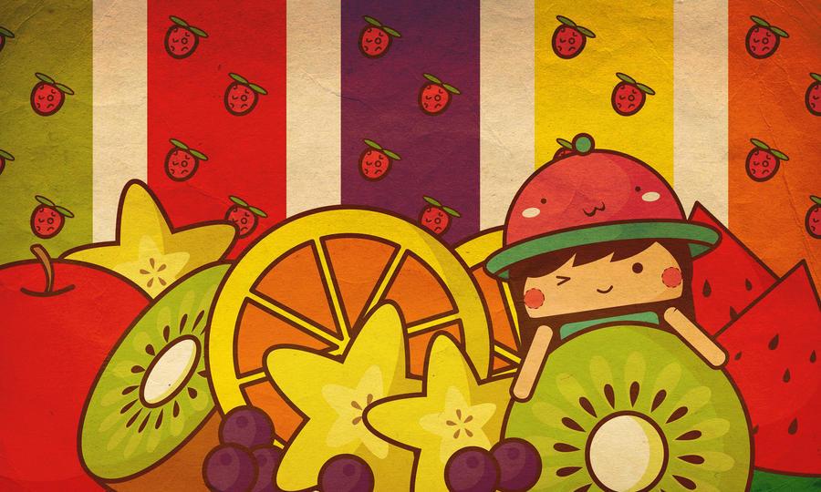 Fruity fruit! by chibiorangebing2