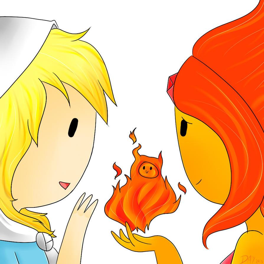 Finn is Fire by Flasho-D