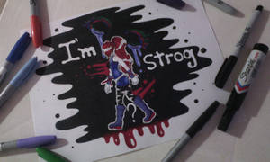I'm Strong? by Flasho-D