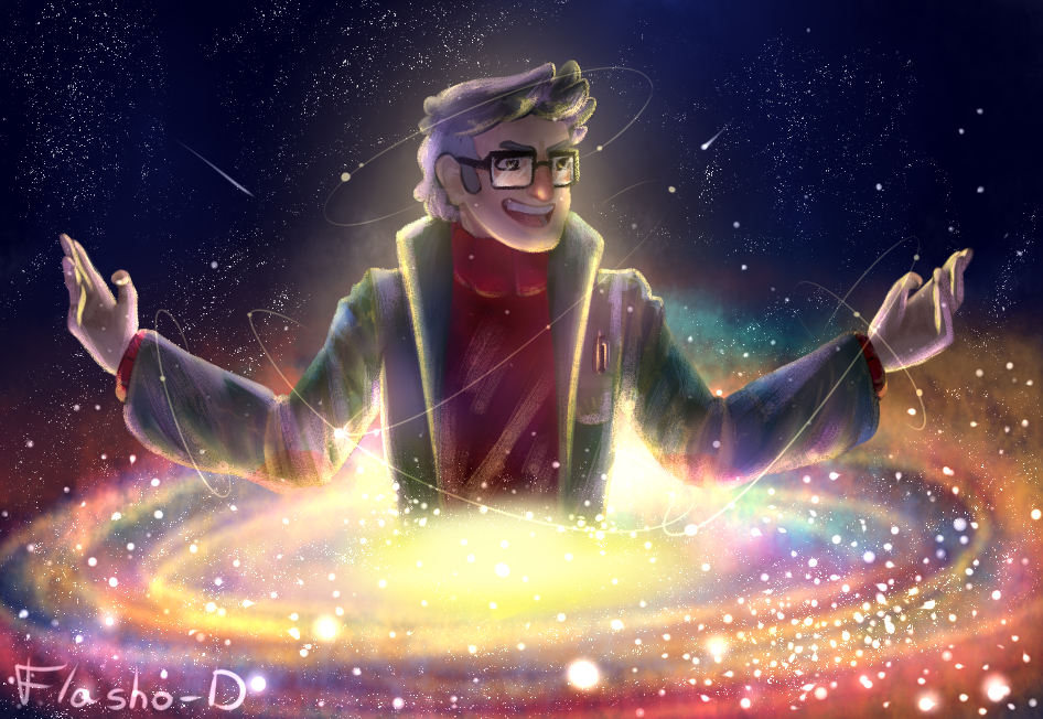 The universe is not a hologram by Flasho-D