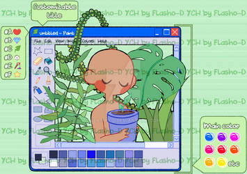 YCH - XP Paint Plants - OPEN (PAYPAL and POINTS)