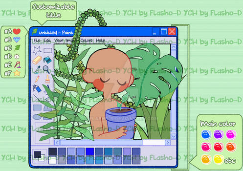 YCH - XP Paint Plants - OPEN (PAYPAL)
