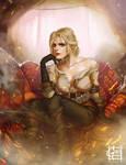 Ciri : The Witcher Fanart