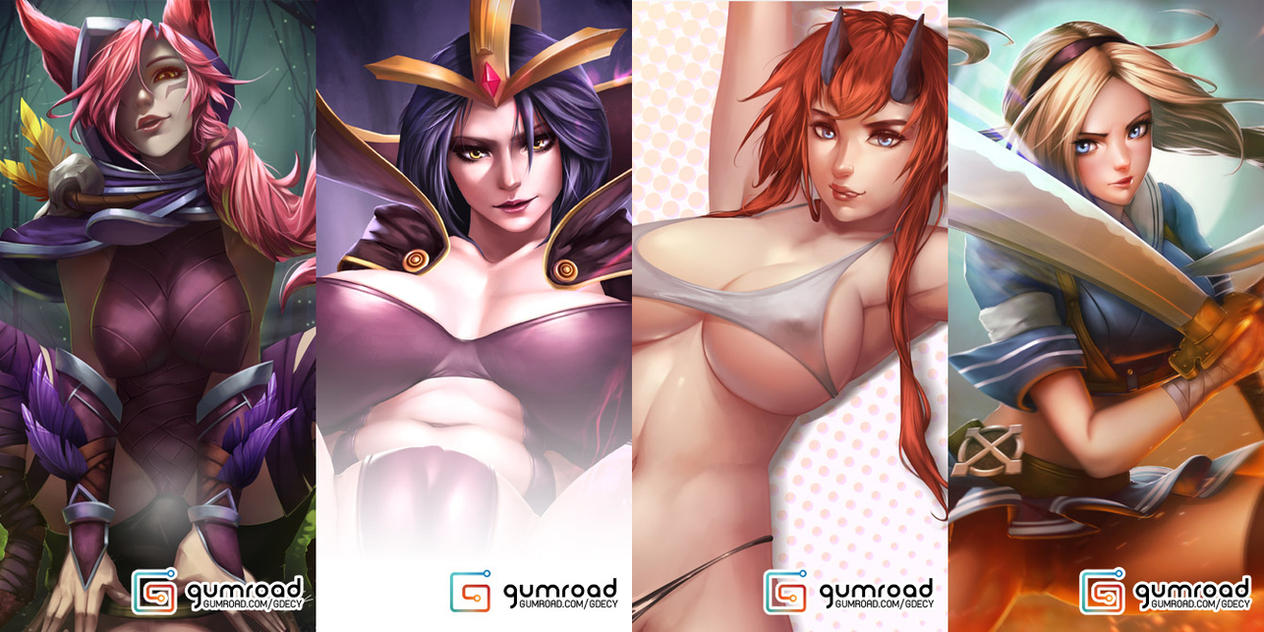 GUMROAD UPDATE. by GDecy