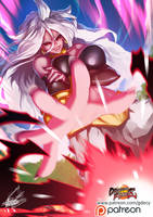 Majin Buu Android 21 by GDecy