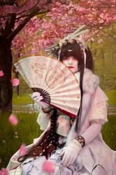 Sakura Dreams (Yuki Onna-Series) by Draco-at-DeviantART