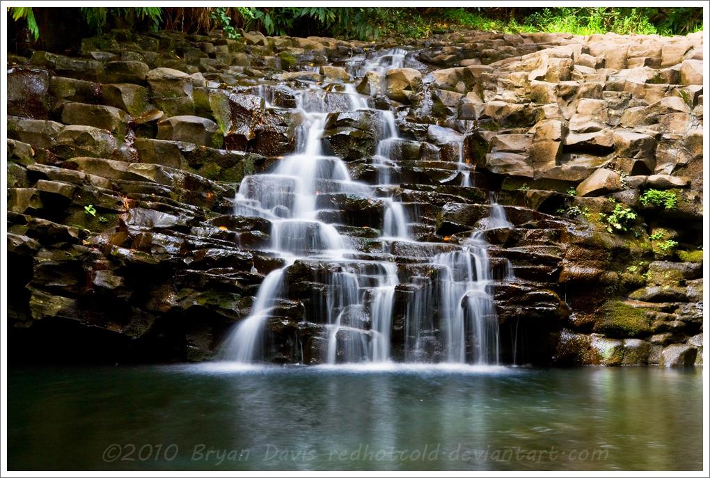 Maui Fall by RedHotCold