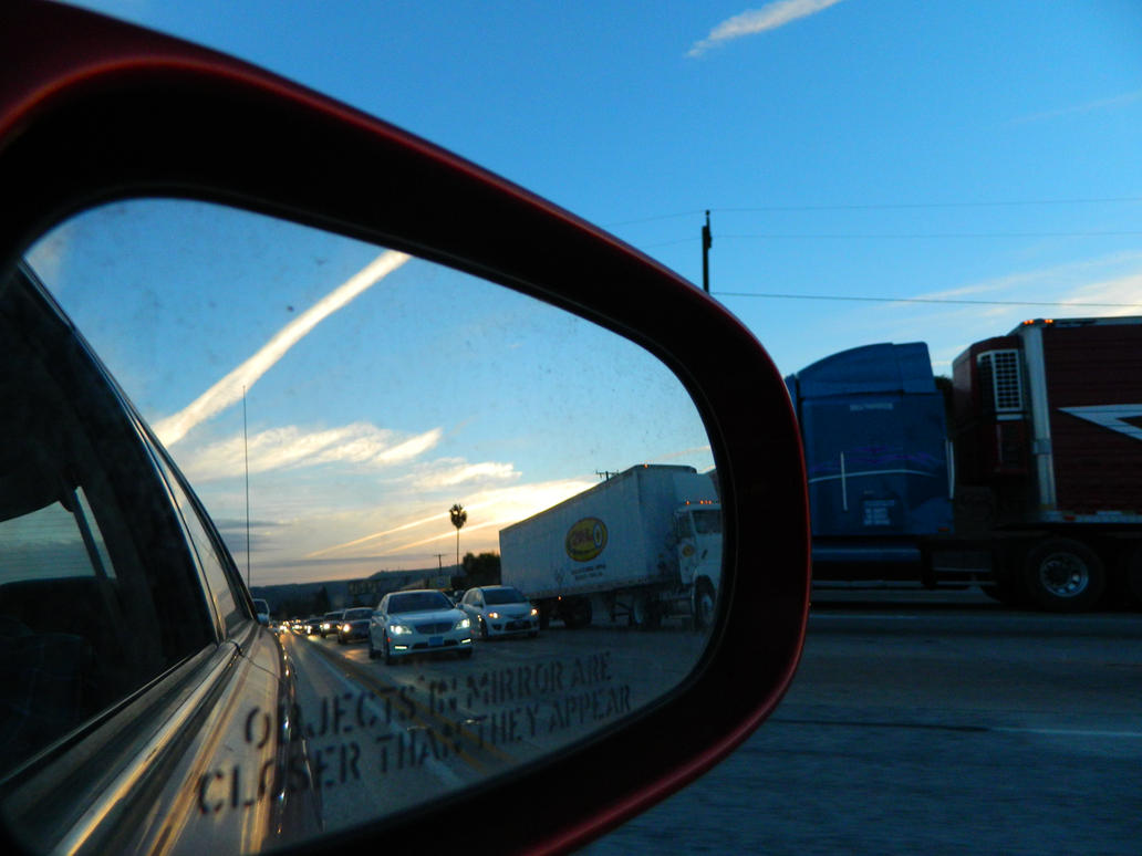 Objects in Mirror by HanOneSail