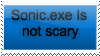 |STAMP| Sonic.exe Is Not Scary by The-Glass-Flamenco