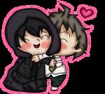 - HajiYami - Kisses by The-Glass-Flamenco