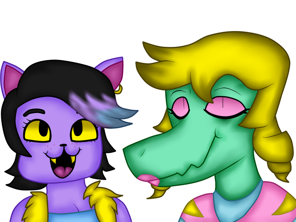 - Undertale - Bratty and Catty by The-Glass-Flamenco