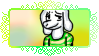 ( SPOILERS ) - Undertale - Asriel Dreemurr stamp by The-Glass-Flamenco
