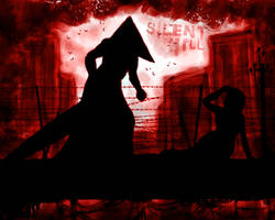 Red Silent Hill by Fate-Lee