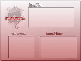 VF Div Layout Template by anapocalypse77