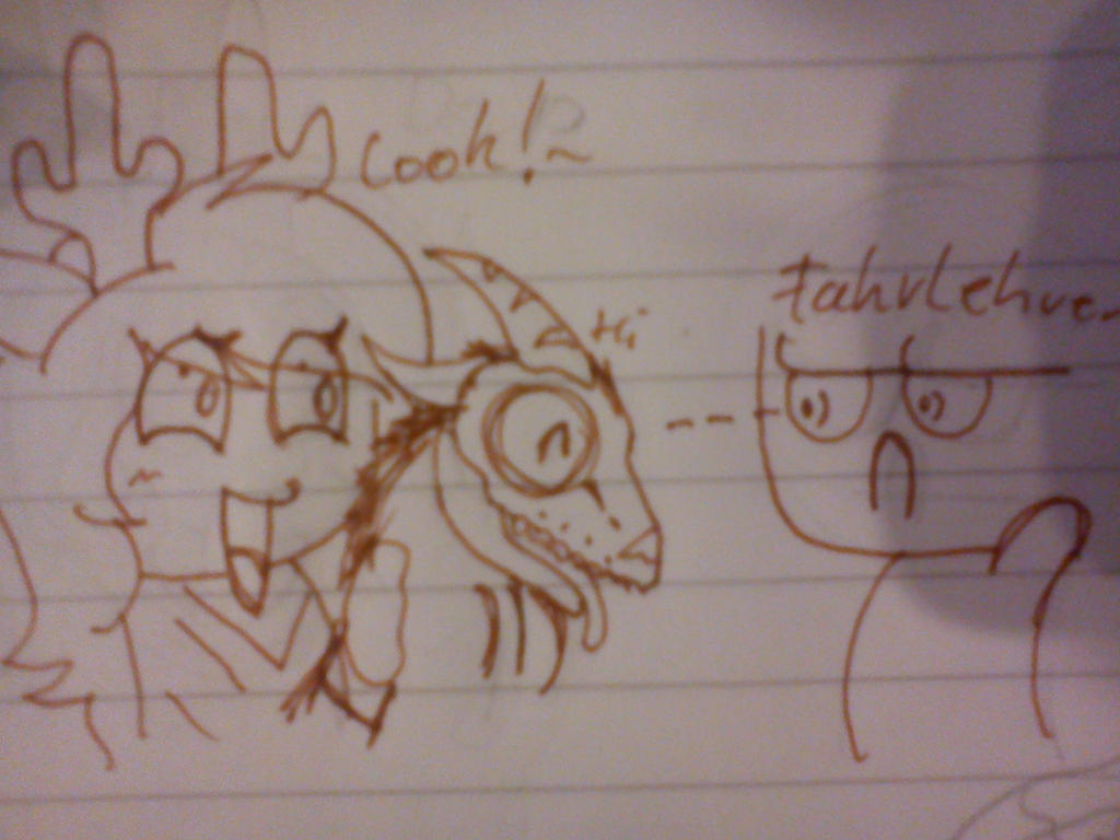 .:[DOODLE]TAKE A LOOK!:. by Maniactheleader