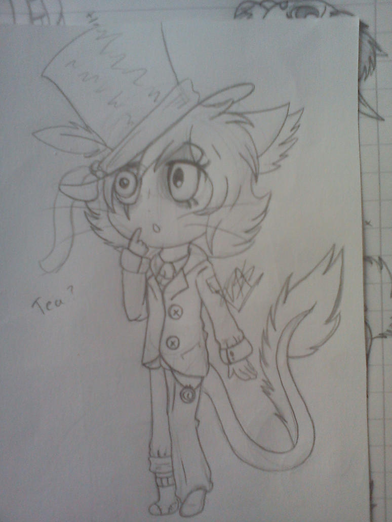 .:[SKETCH]SIMON THE MADHATTER:. by Maniactheleader