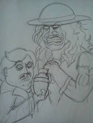 .:[DOODLE]PAUL BEARER AND THE UNDERTAKER:. by Maniactheleader