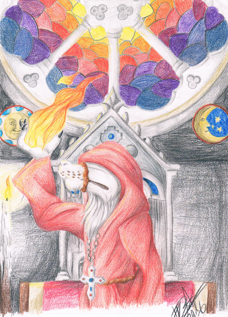 .:[DRAWING] VEIL OF FIRE:. by Maniactheleader