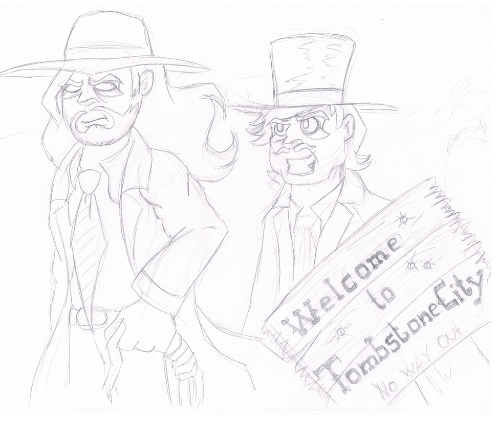 .:[DOODLE] TOMBSTONE CITY:. by Maniactheleader