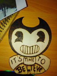 . :PYROGRAPHY] BENDY TEST:.  by Maniactheleader
