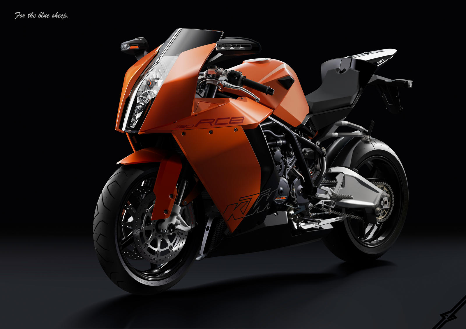 "KTM  RC8 ""For the blue sheep"" by averto"