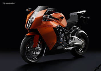 KTM  RC8 'For the blue sheep'