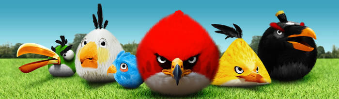 The Angry Birds by averto