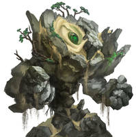 Earth Elemental_DVG - Warfighter Fantasy by Huy137